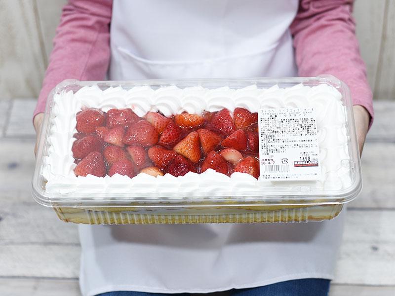 コストコ ストロベリー ケーキ コストコのストロベリースコップケーキのおいしい切り方!食べた感想...